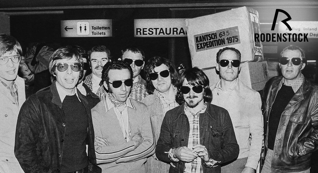 Rodenstock Kantsch zonnebrillen voor echte avonturiers
